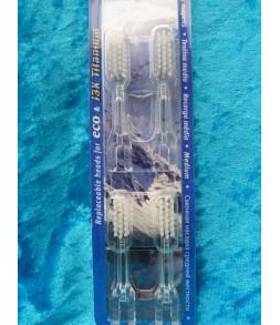 Tête brosse à dents Soladey (Titanium ou Eco) x 4 têtes