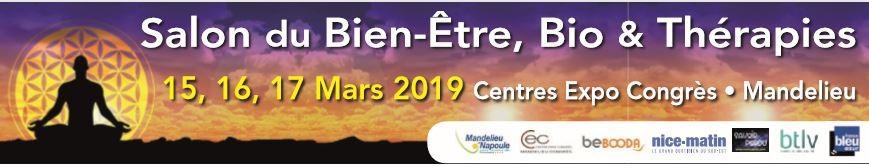 salon- bien-etre -bio-&-thérapies-MANDELIEU-mars-2019